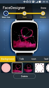 FaceDesigner:watch face making- screenshot thumbnail