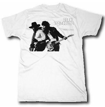 T-Shirt - Born to Run White