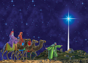 "Photo: Wise Men follow the Star of Bethlehem   1 Now after Jesus was born in Bethlehem of Judea in the days of Herod the king, behold, wise men from the east came to Jerusalem, 2 saying, ""Where is he who has been born king of the Jews? For we saw his star when it rose and have come to worship him."" 3 When Herod the king heard this, he was troubled, and all Jerusalem with him; 4 and assembling all the chief priests and scribes of the people, he inquired of them where the Christ was to be born. 5 They told him, ""In Bethlehem of Judea, for so it is written by the prophet:   6 ""'And you, O Bethlehem, in the land of Judah,    are by no means least among the rulers of Judah; for from you shall come a ruler    who will shepherd my people Israel.'"" Matthew 2:1-6 ESV.   (Jesus is born. Angels appear to shepherds & announce the birth. Wise men from the East come later & King Herod tries to kill Jesus. Joseph goes to Egypt then Nazareth.)   https://sites.google.com/site/primitivebaptists/"
