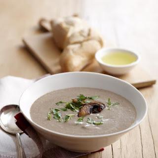 Mushroom and Leek Soup.