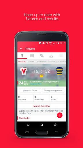 Fan App for St Helens RFC