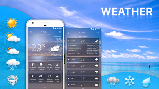 Weather Forecast pro app for Android screenshot