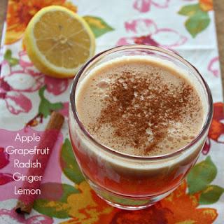 Radish-ly Radical Apple Grapefruit Juice