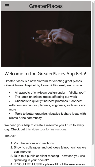 GreaterPlaces- screenshot
