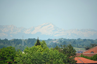 Photo: Incredibile vista: Il Monte Rosa