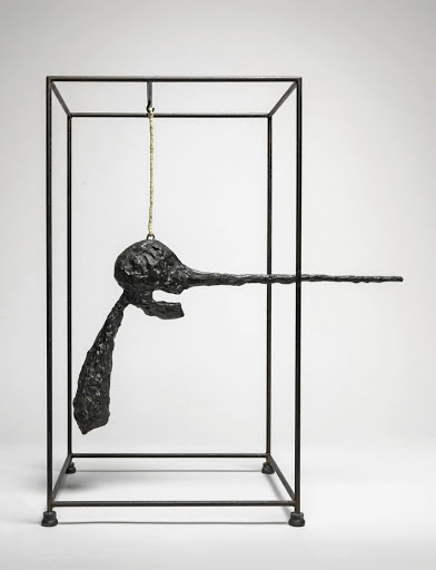 Alberto Giacometti: Nose (Le nez), 1947. Picture: ARTISTS RIGHTS SOCIETY (ARS), NEW YORK/ADAGP/FAAG,PARIS