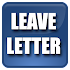 Leave Letters Sample