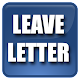 Leave Letters Sample Download on Windows