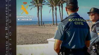 Guardia Civil detiene a un hombre de 70 años.