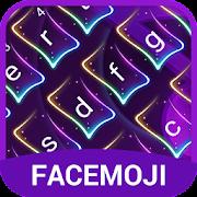 Neon Music Keyboard Theme for Snapchat