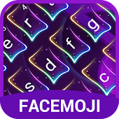 Neon Music Keyboard Theme for Snapchat