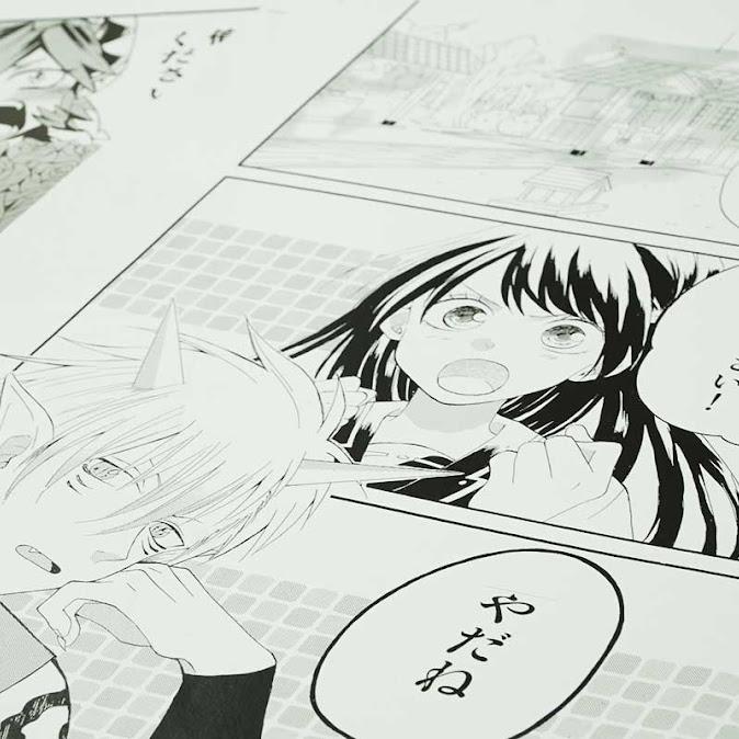 ハロウィン2コママンガ(漫画家体験)