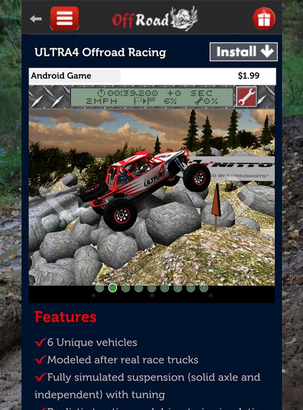 Offroad Racing Games- screenshot