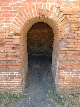 Photo: Entrance at chimney base