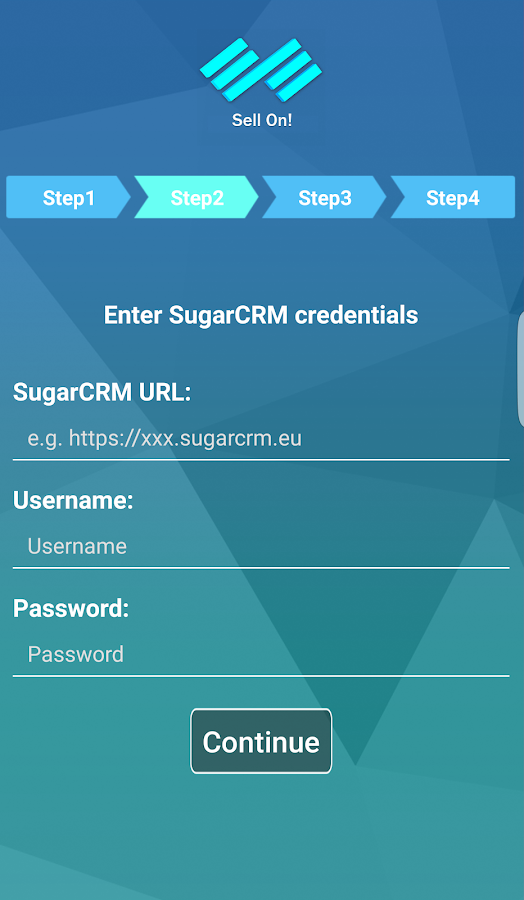 Sell On SugarCRM- screenshot