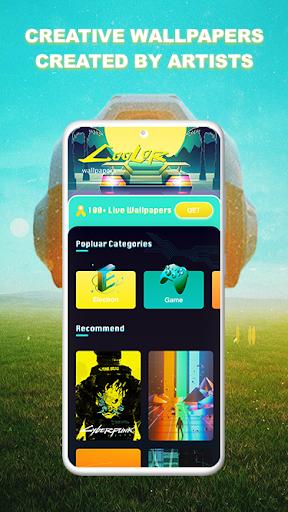 Coolor-Live Wallpapers screenshot 5