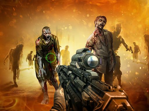 a Zombie: Zombie Shooter - Dead City Island 1.0.4 screenshots 1