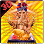 3D Ganpati Ganesh Theme Icon