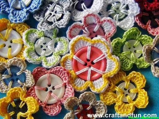 DIY Buttons Craft Design Ideas