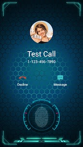 S8 style call screen theme, full screen caller ID App Download For Android 4