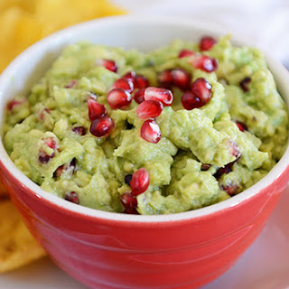 Holiday Pomegranate Guacamole