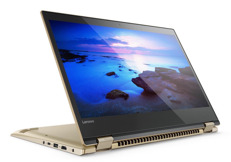 Фото 3 - Ультрабук Lenovo YOGA 520 Gold Metallic (81C800DBRA)
