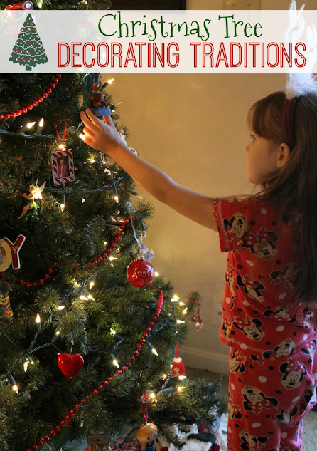 5 Christmas Tree Decorating Traditions that you can easily try with your own family.