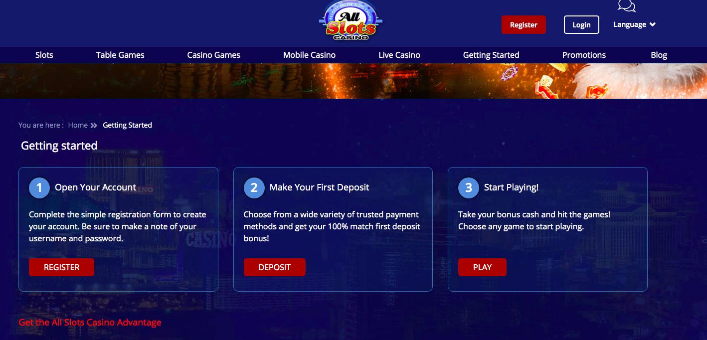 All Slots Casino Information