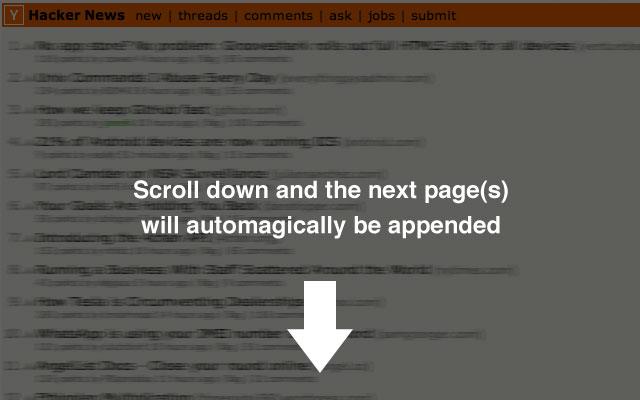 HN Infinite Scroll