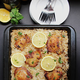 Baked Greek Chicken Rice Recipes