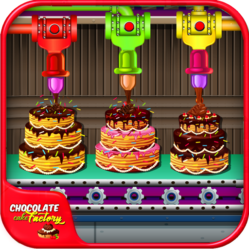 Chocolate Cake Factory - sweet desserts food Icon