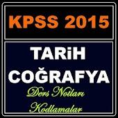 KPSS Tarih Coğrafya Ders Notu