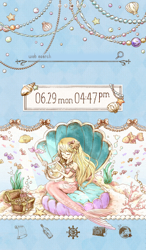 Cute wallpaper★Classic Mermaid