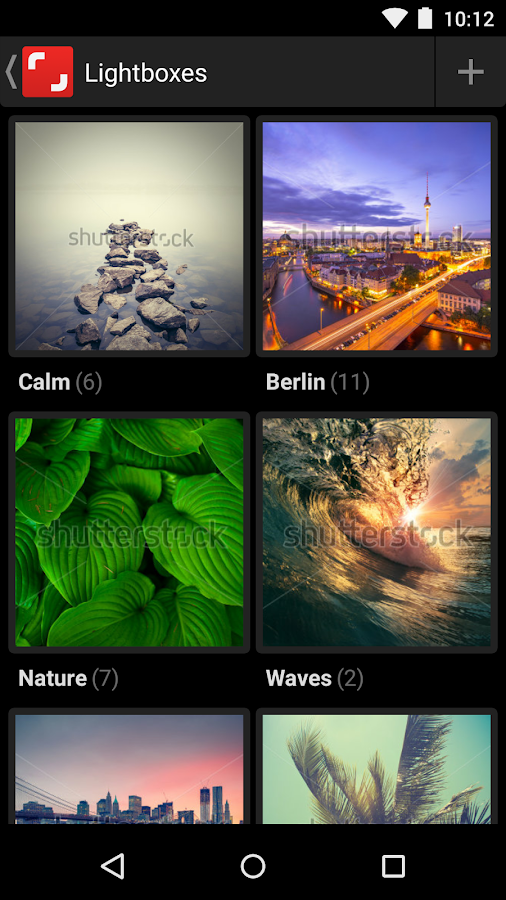 Shutterstock- screenshot