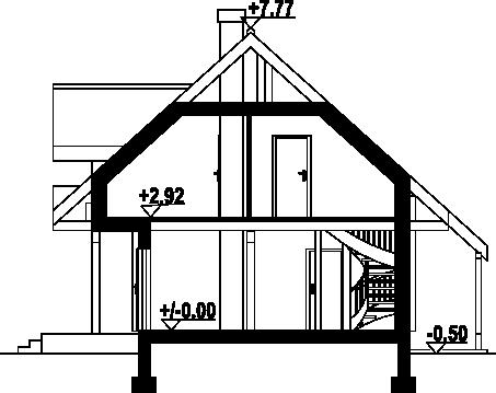 Świdnica mała dw 5 - Przekrój