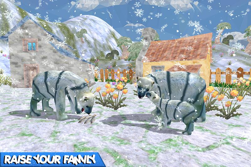 Скриншот Медведь Семья Фэнтези Джунгли