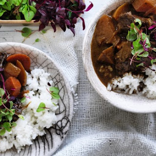 Miso Curry Of Beef.