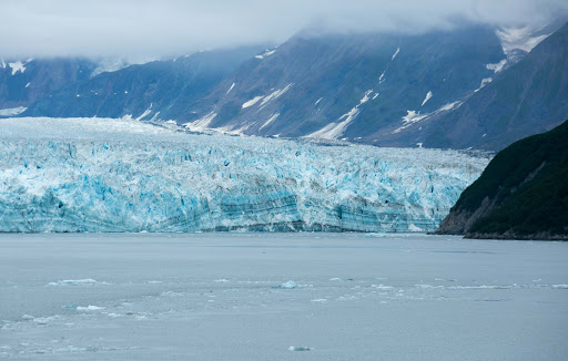 hubbard-glacier-ice-sheet.jpg - A sheet of ice along the edge of Hubbard Glacier, 200 miles northwest of Juneau, Alaska.