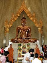 Photo: the solid gold Buddha, Wat Traimitr, Bangjok
