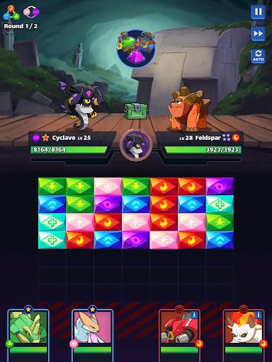 Mana Monsters: Legendary Puzzle Fighting Adventure apkmr screenshots 14