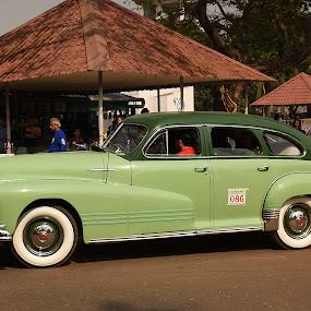 1947 Pontiac by Gautam Tarafder - Transportation Automobiles ( #classic, #pontiac, #1947-pontiac, #vintage, #cars,  )