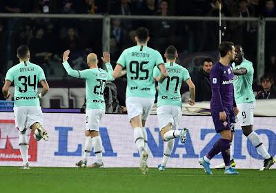 🎥 L'Inter Milan et Romelu Lukaku tenus en échec à la Fiorentina, le PSG cartonne Saint-Étienne