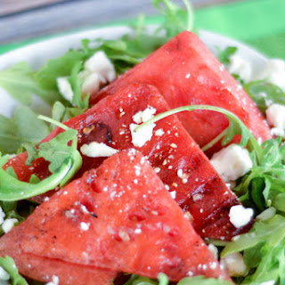 Grilled Watermelon Salad.