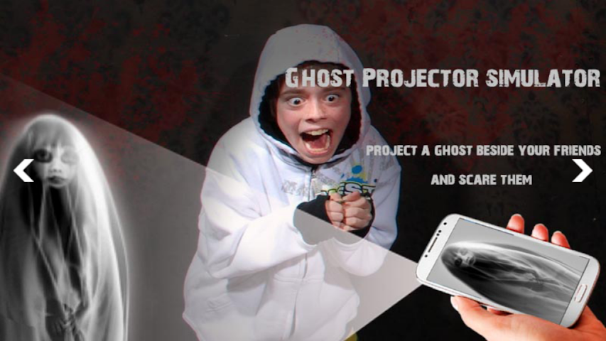 android Ghost Projector Simulator Screenshot 1