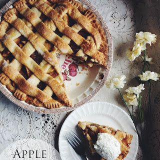 Apple Rhubarb Pie.