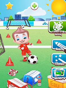 Football Kids Color Game- screenshot thumbnail
