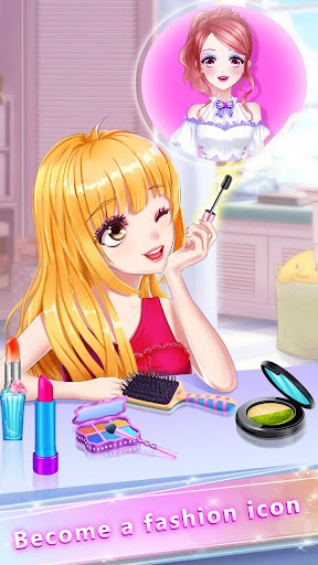 Anime Girl Fashion Makeup screenshot