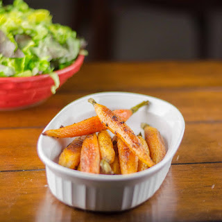 Roasted Carrots with Ginger and Honey Recipe