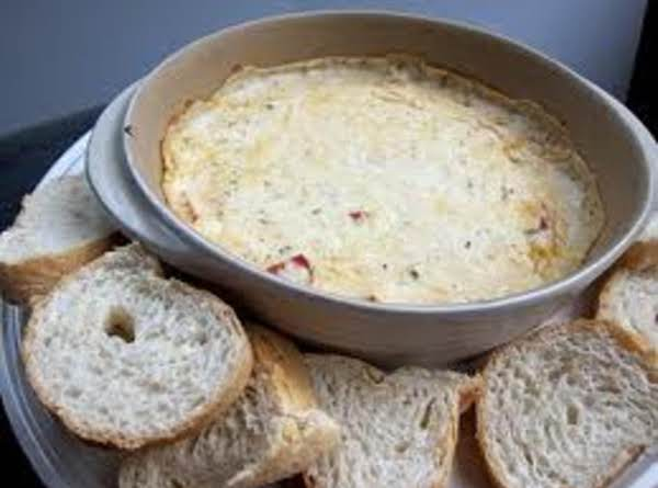 White Pizza Dip With Options Recipe
