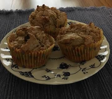 Vegan Peanut Butter Muffins